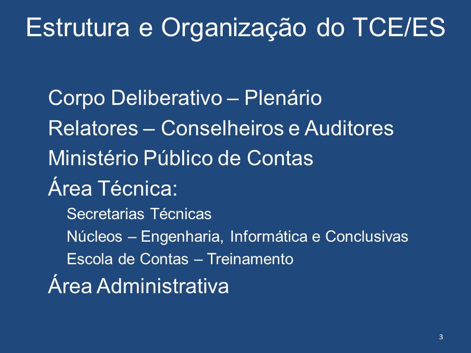 Estrutura e Organização do TCE/ES