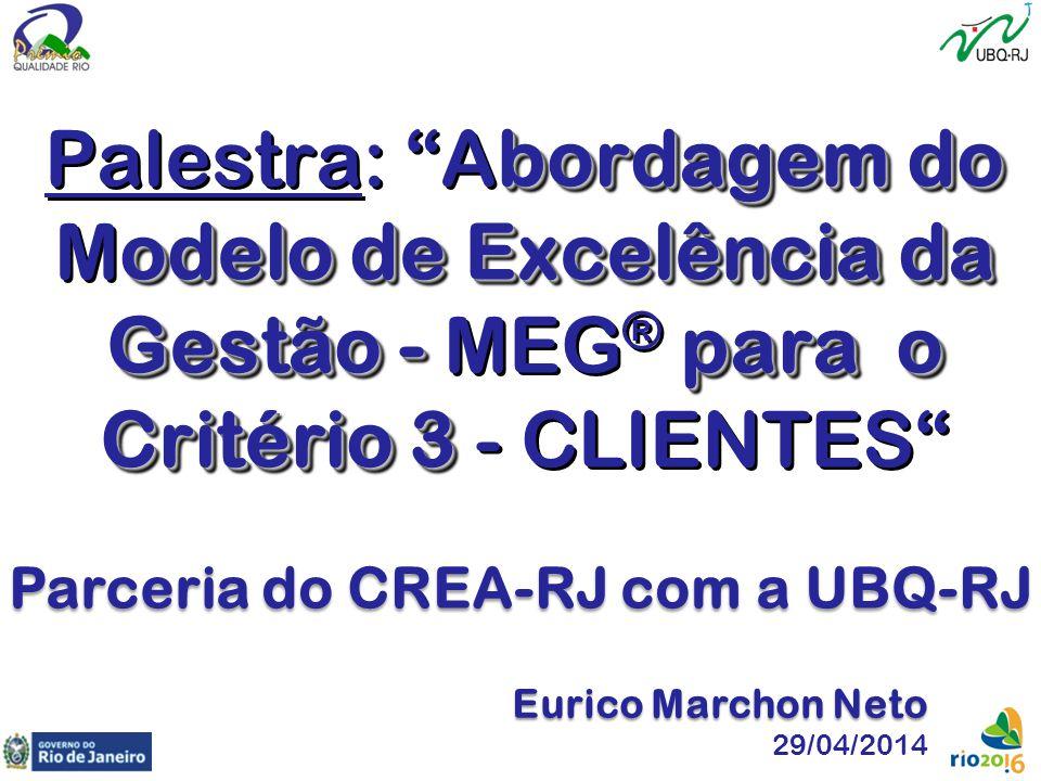 Parceria do CREA-RJ com a UBQ-RJ