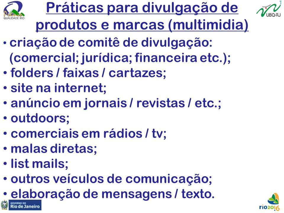 Práticas para divulgação de produtos e marcas (multimidia)