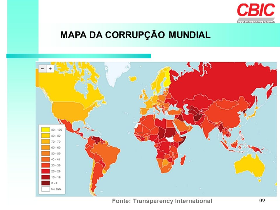 Fonte: Transparency International