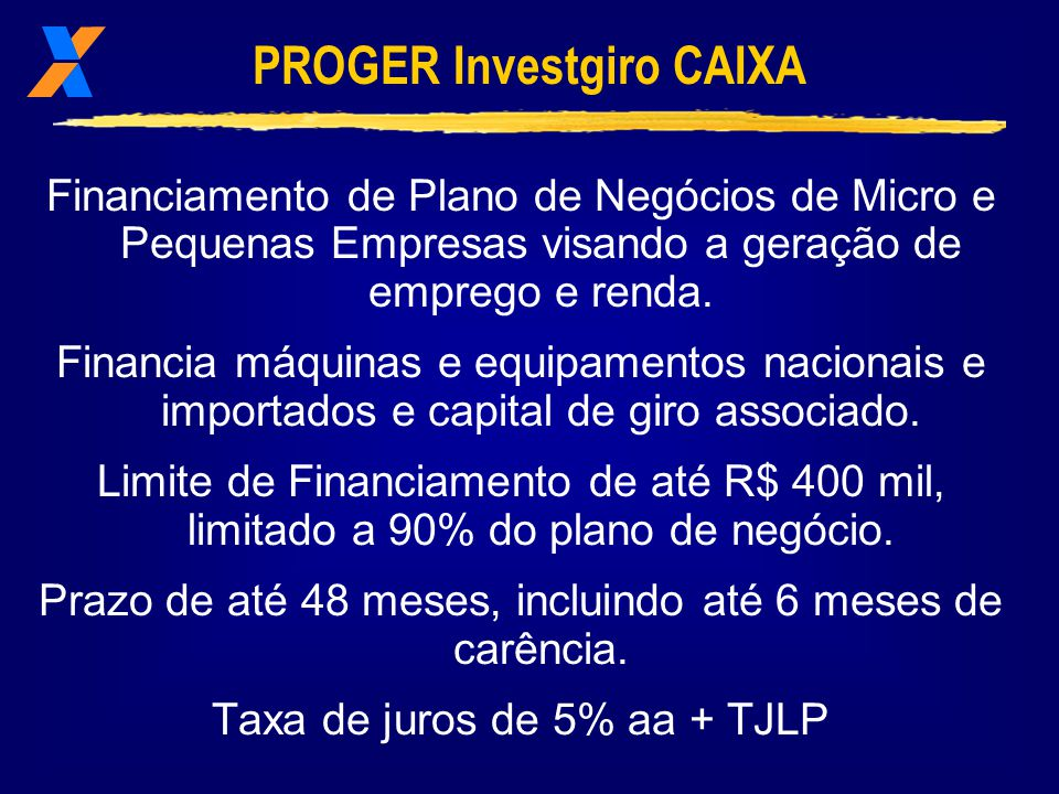 PROGER Investgiro CAIXA