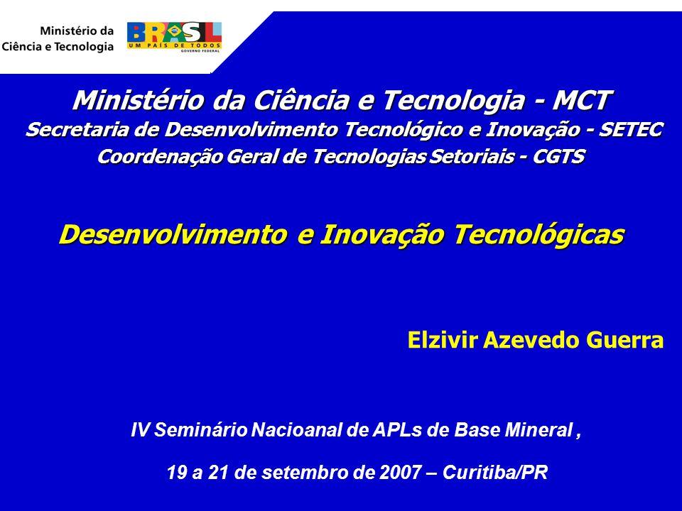 Ministério da Ciência e Tecnologia - MCT