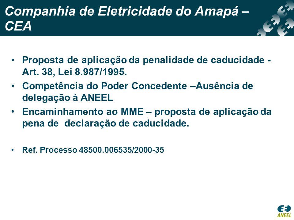 Companhia de Eletricidade do Amapá – CEA