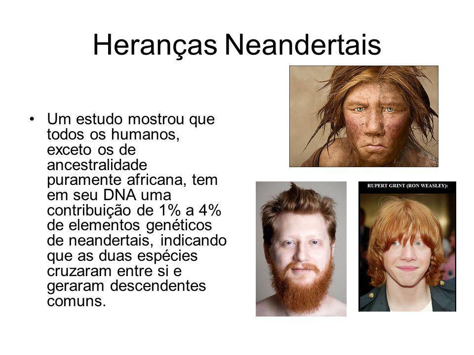 Heranças Neandertais