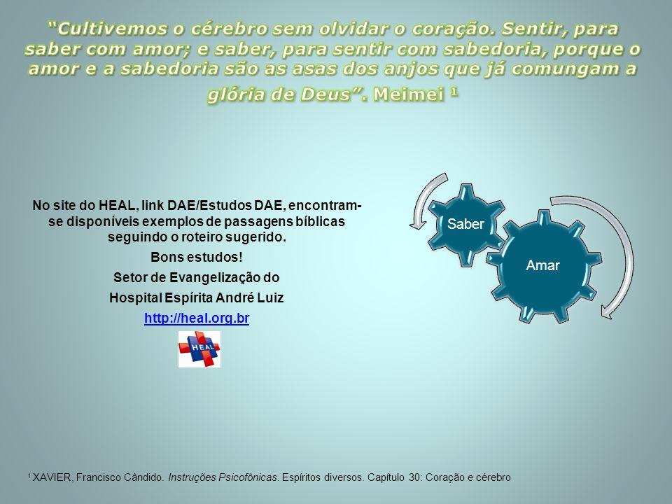 Setor de Evangelização do Hospital Espírita André Luiz