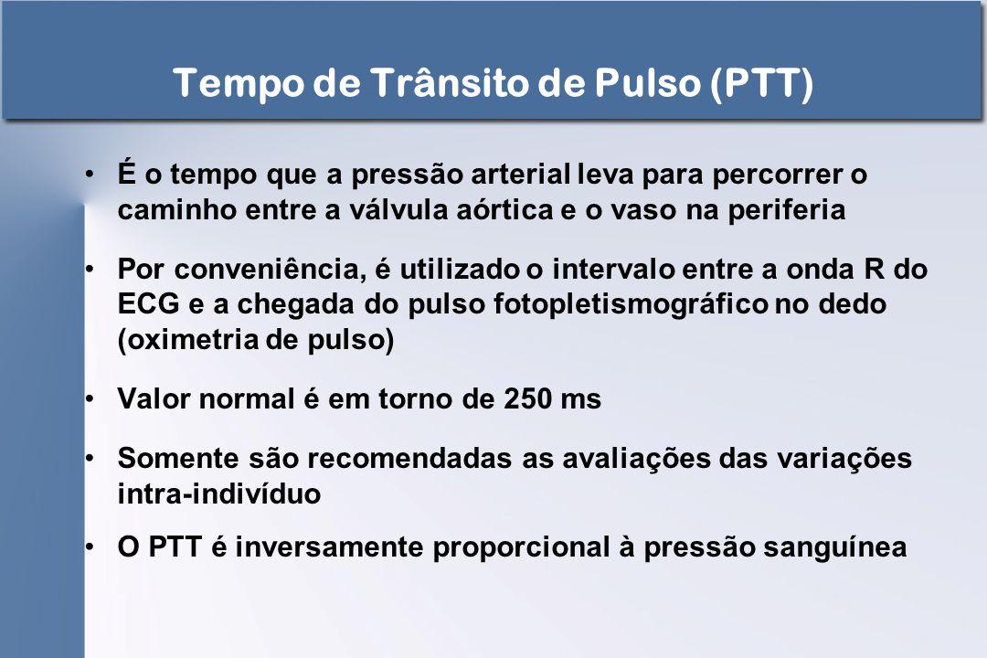Tempo de Trânsito de Pulso (PTT)