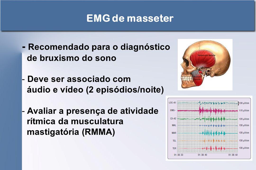 - Recomendado para o diagnóstico