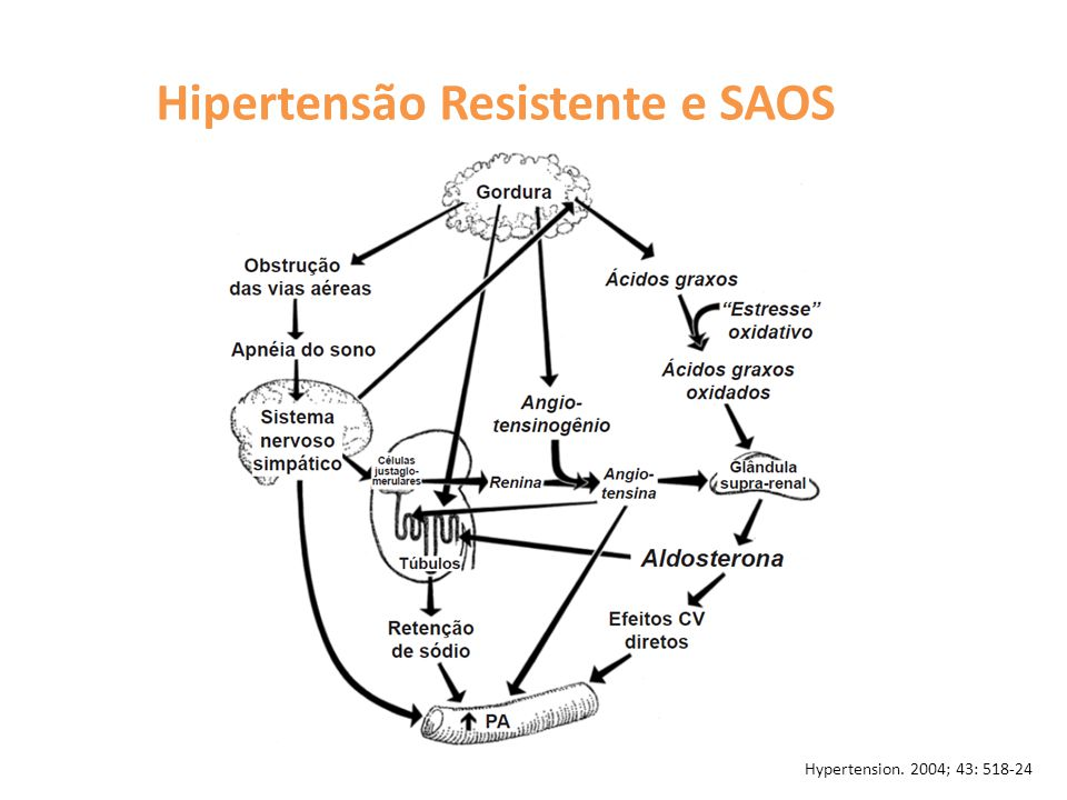 Hipertensão Resistente e SAOS
