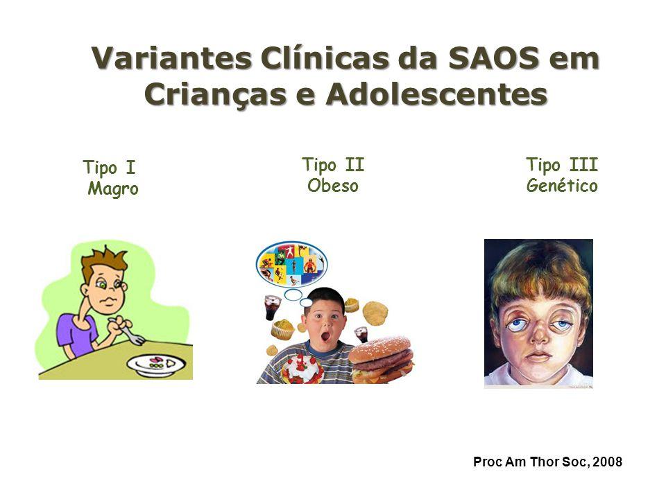 Variantes Clínicas da SAOS em Crianças e Adolescentes