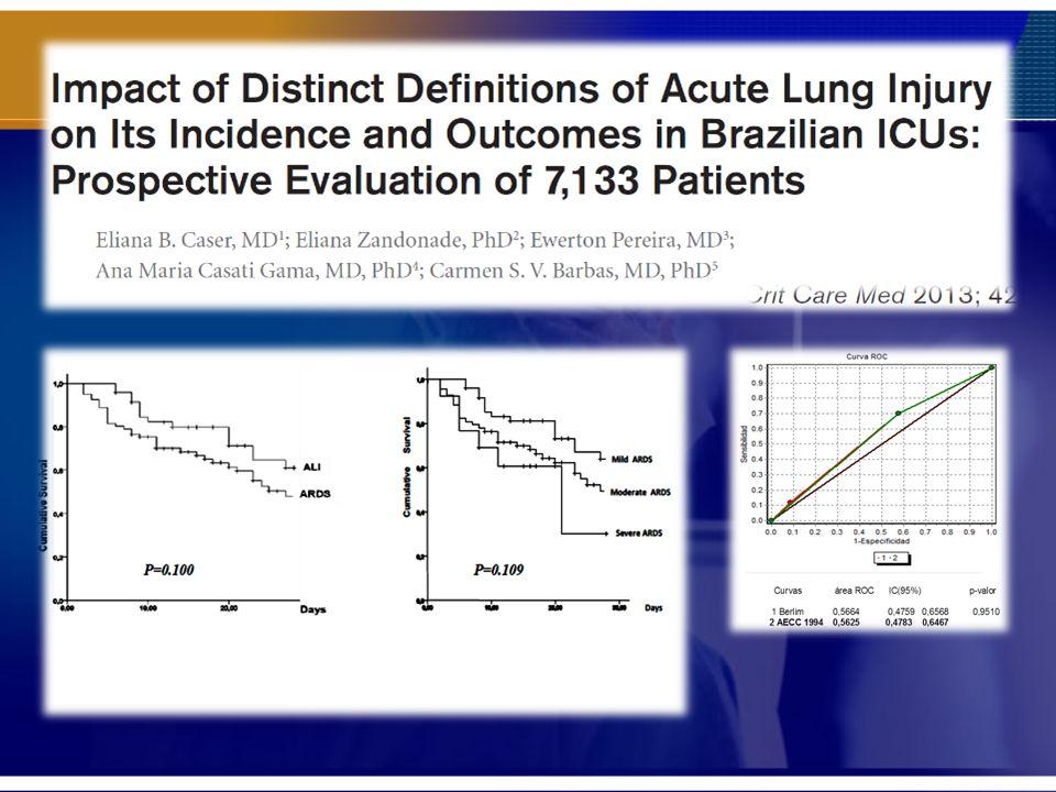Trabalho Brasileiro que classificou pacientes com a antiga e nova classificação e encontrou resultado semelhante