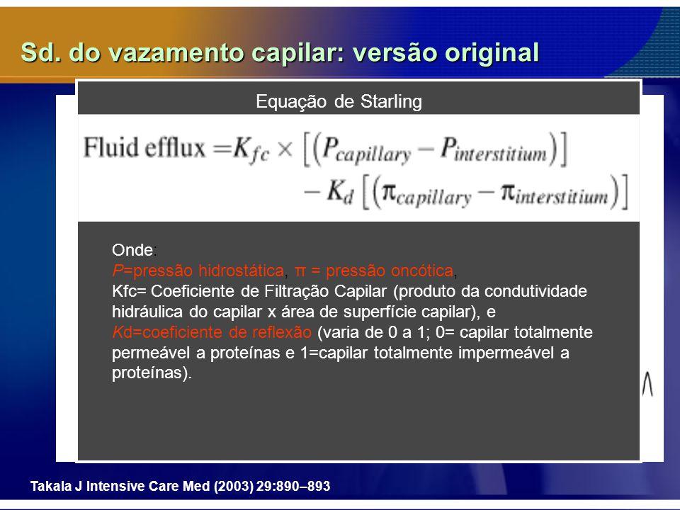 Sd. do vazamento capilar: versão original