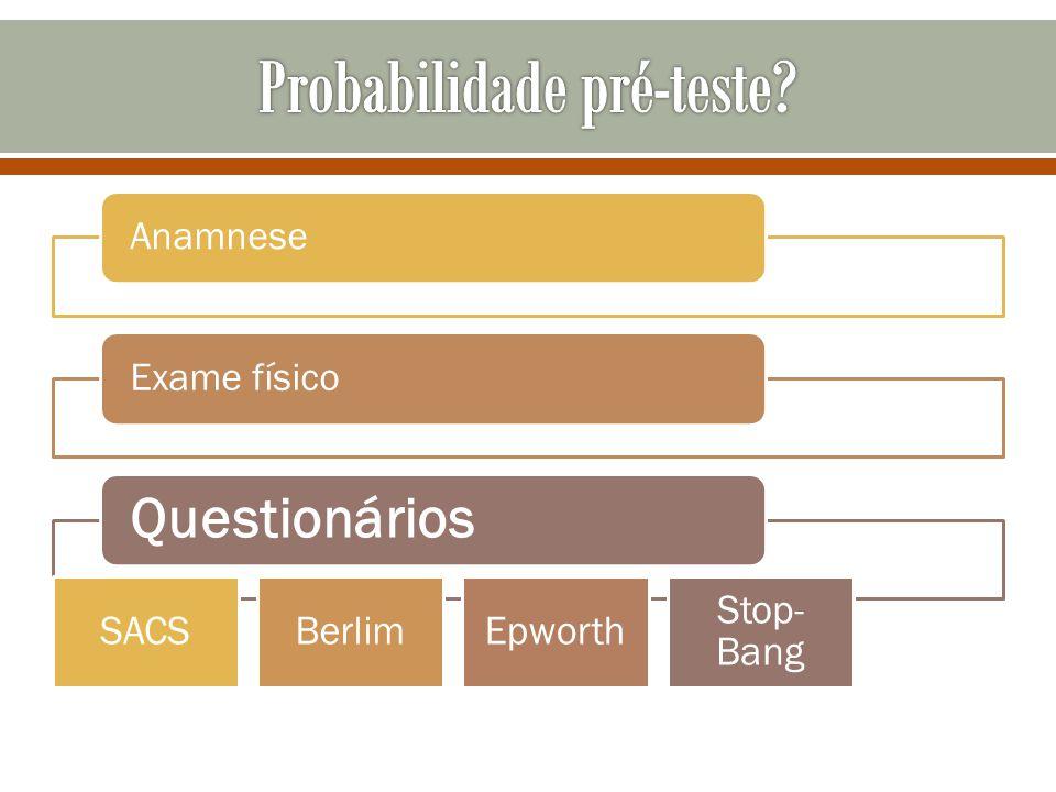 Probabilidade pré-teste