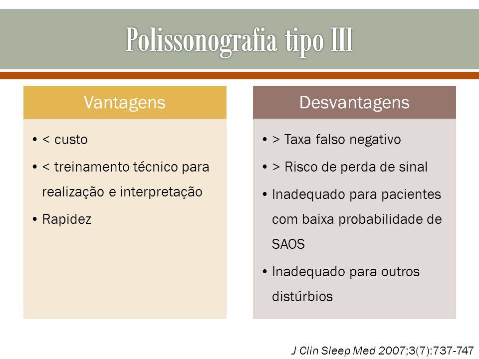 Polissonografia tipo III