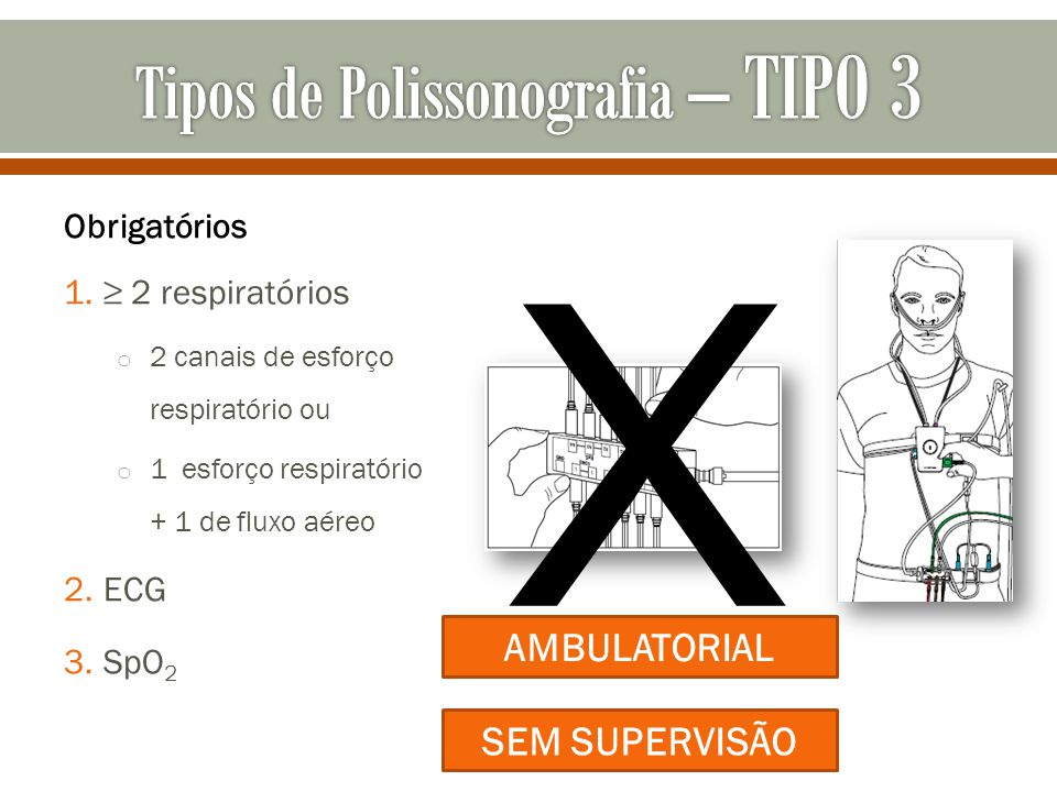 Tipos de Polissonografia – TIPO 3