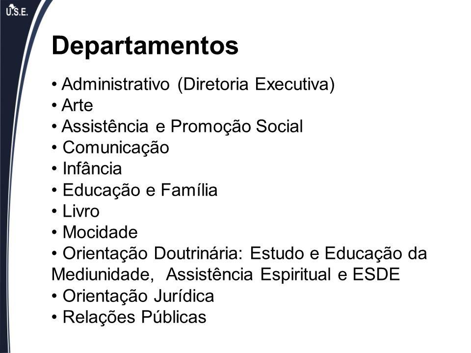 Departamentos Administrativo (Diretoria Executiva) Arte