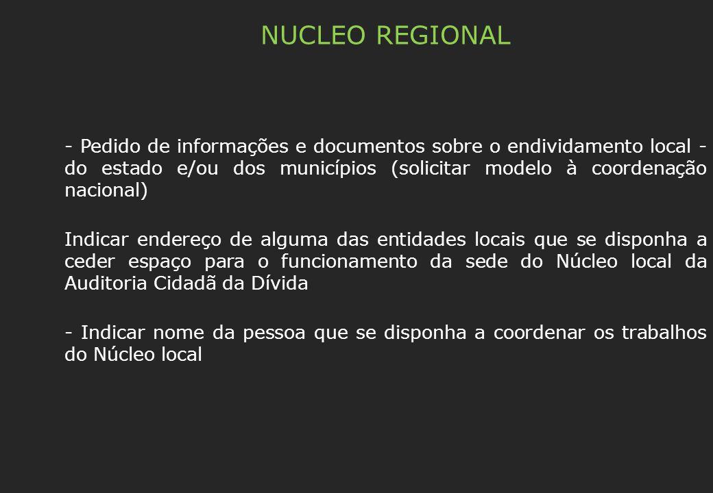 NUCLEO REGIONAL