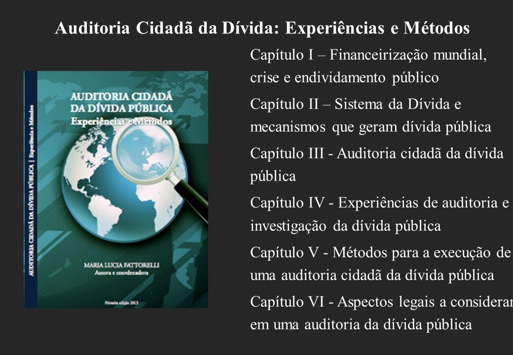 Auditoria Cidadã da Dívida: Experiências e Métodos
