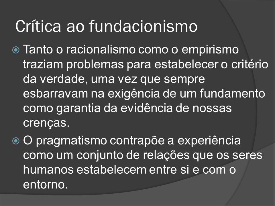 Crítica ao fundacionismo