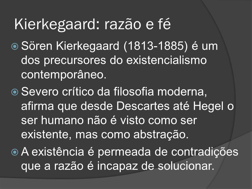 Kierkegaard: razão e fé