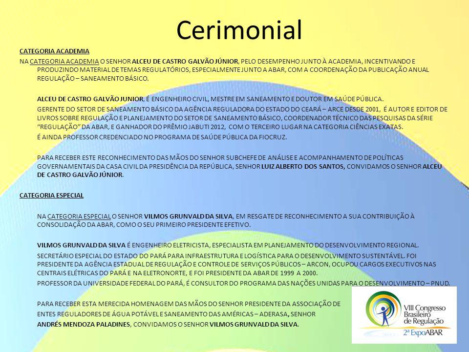 Cerimonial Categoria ACADEMIA
