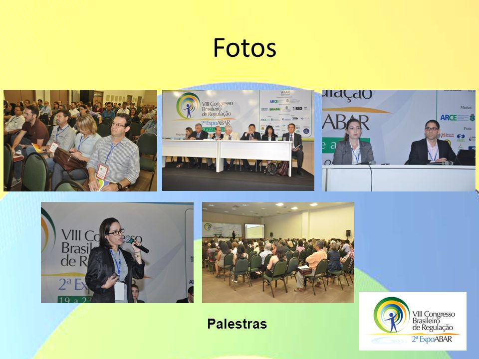 Fotos Palestras