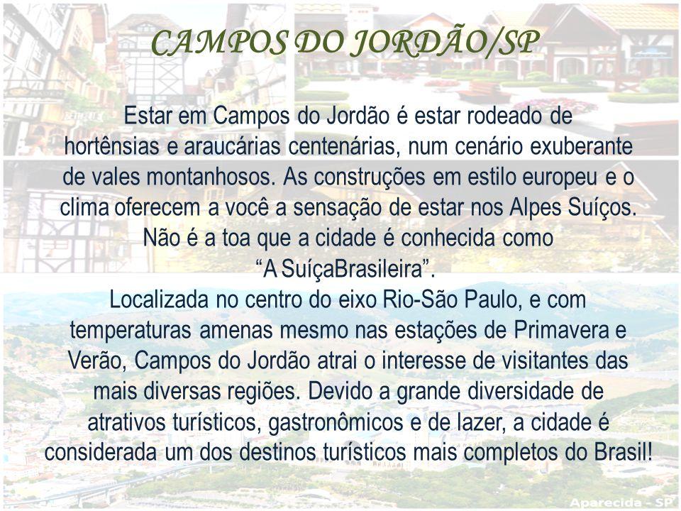 CAMPOS DO JORDÃO/SP