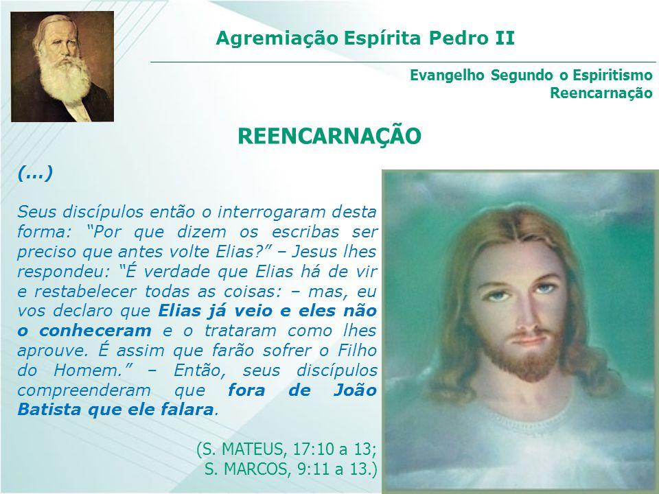 Evangelho Segundo o Espiritismo Reencarnação