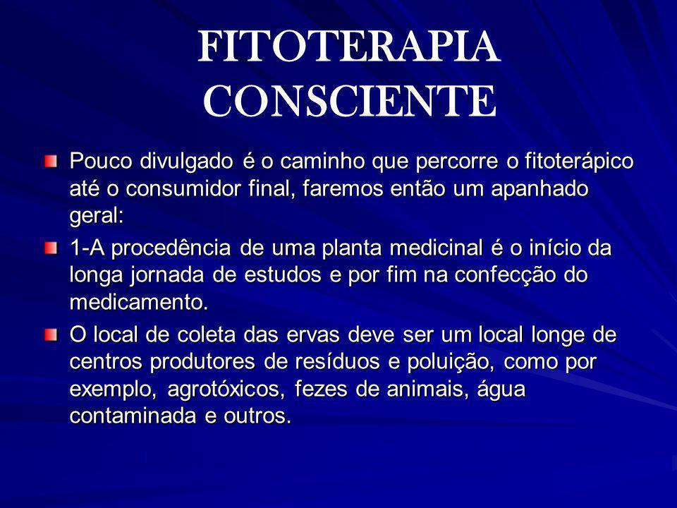 FITOTERAPIA CONSCIENTE