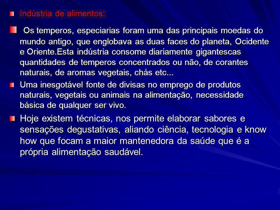Indústria de alimentos: