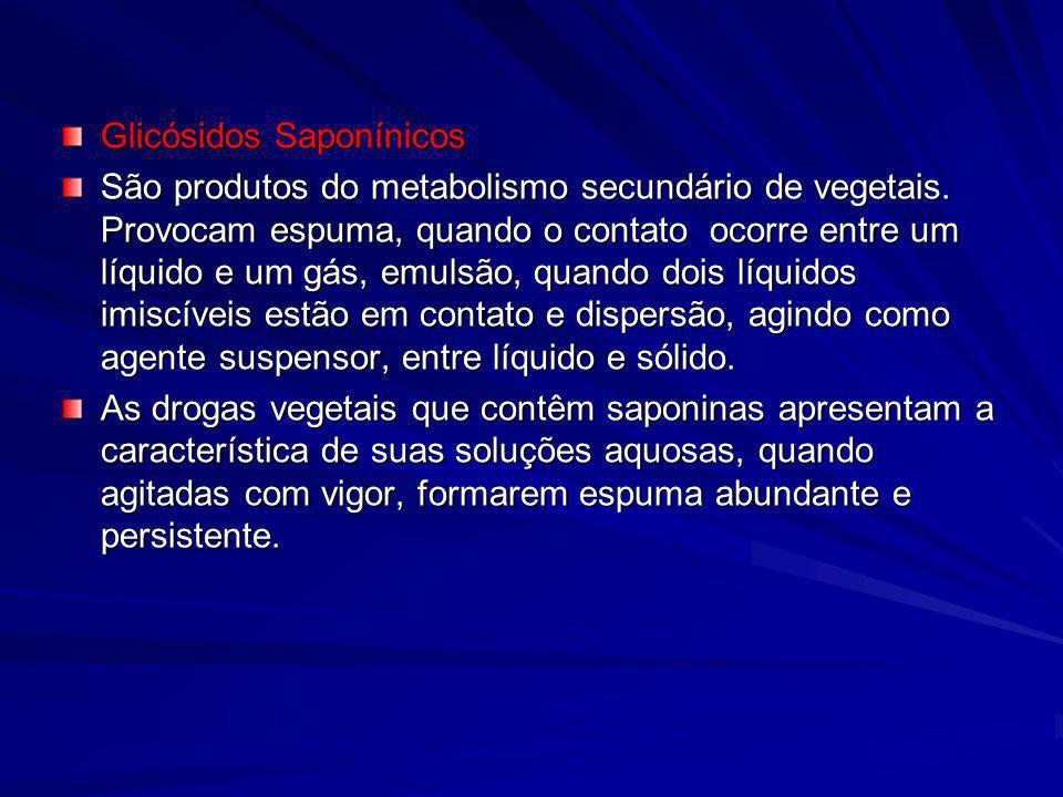 Glicósidos Saponínicos