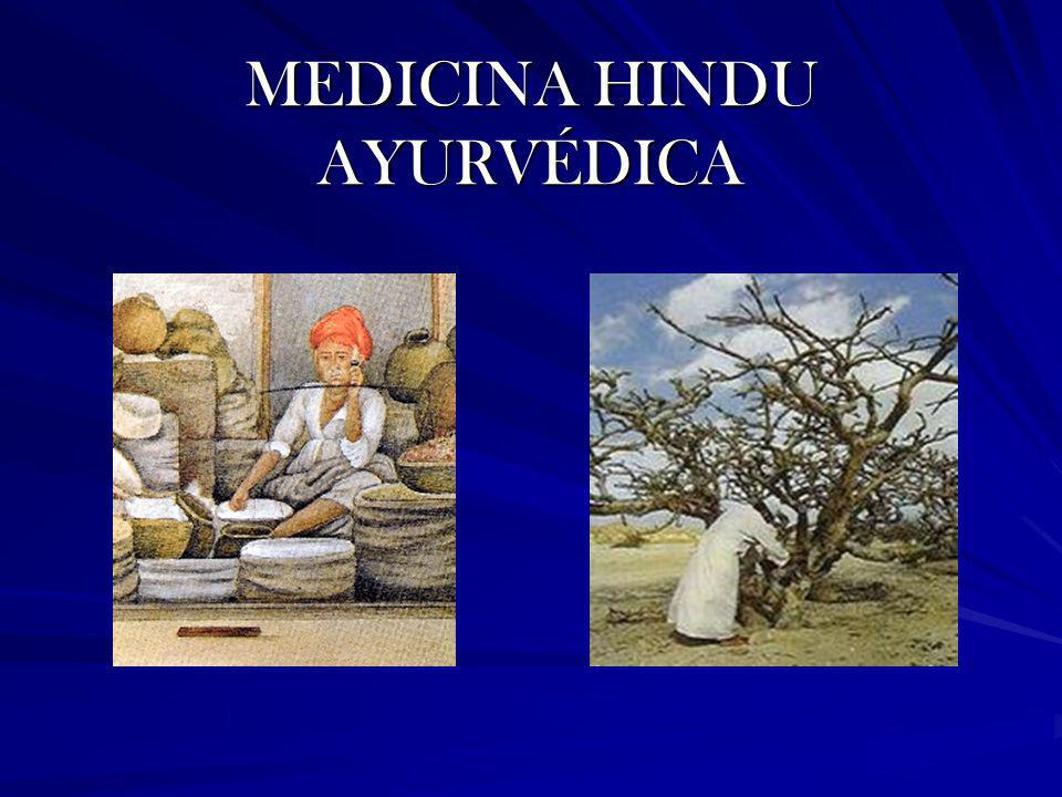 MEDICINA HINDU AYURVÉDICA