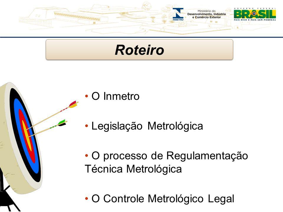 Roteiro O Inmetro Legislação Metrológica