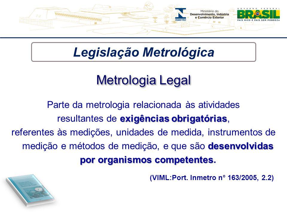 Legislação Metrológica