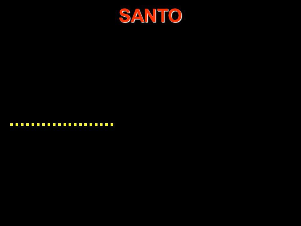SANTO ....................