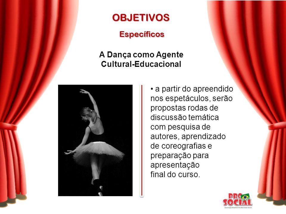A Dança como Agente Cultural-Educacional