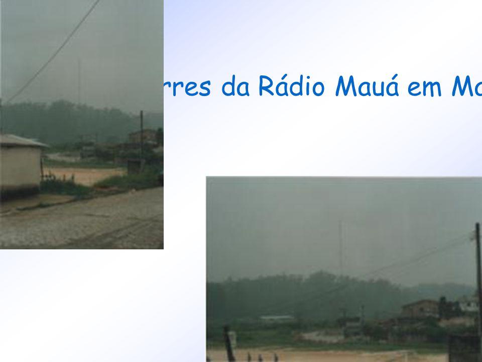 Torres da Rádio Mauá em Mauá