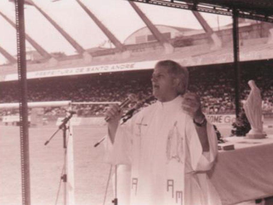a Milícia já fazia divulgação quando aconteceu o 1º Cenáculo da Renovação Carismática em Santo André, em 1994
