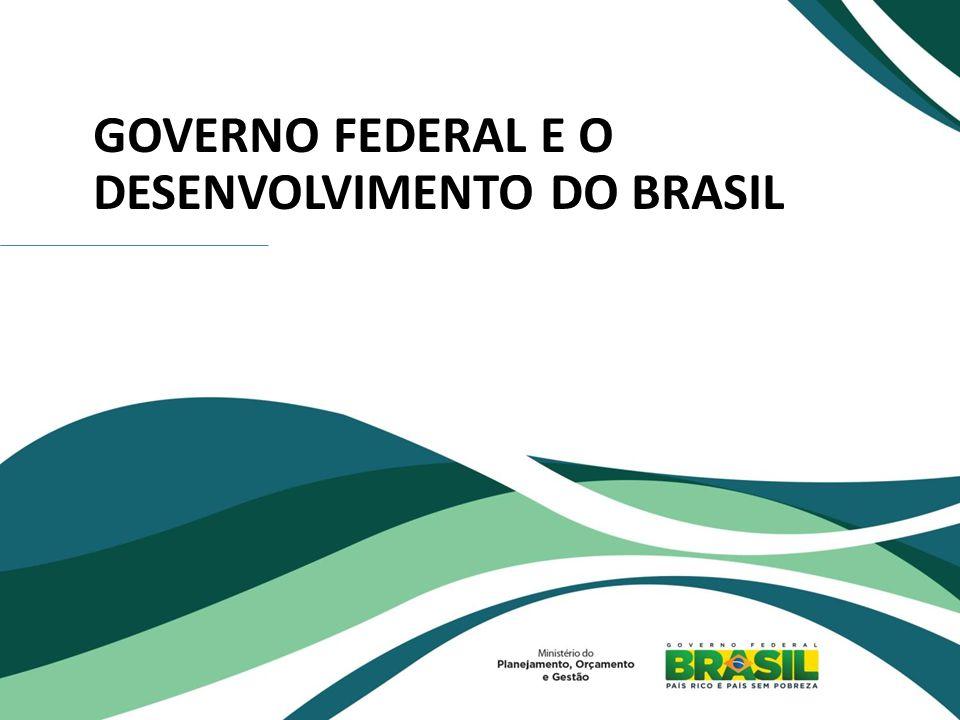 GOVERNO FEDERAL E O DESENVOLVIMENTO DO BRASIL
