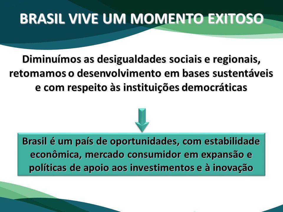 BRASIL VIVE UM MOMENTO EXITOSO