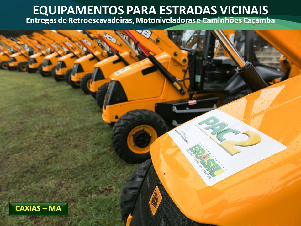 EQUIPAMENTOS PARA ESTRADAS VICINAIS