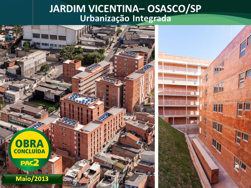 JARDIM VICENTINA– OSASCO/SP Urbanização Integrada