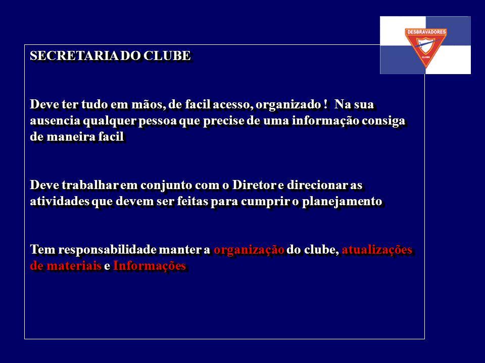 SECRETARIA DO CLUBE