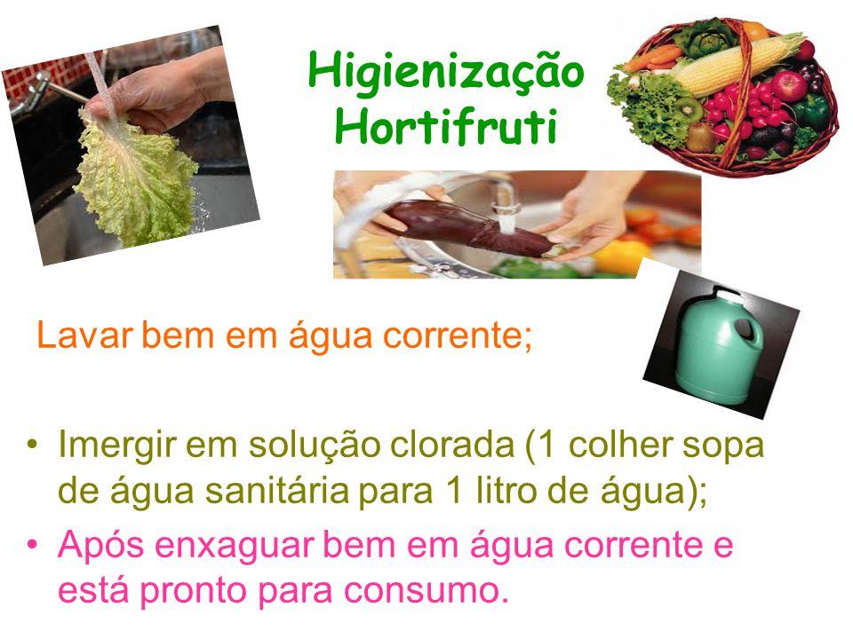 Higienização Hortifruti