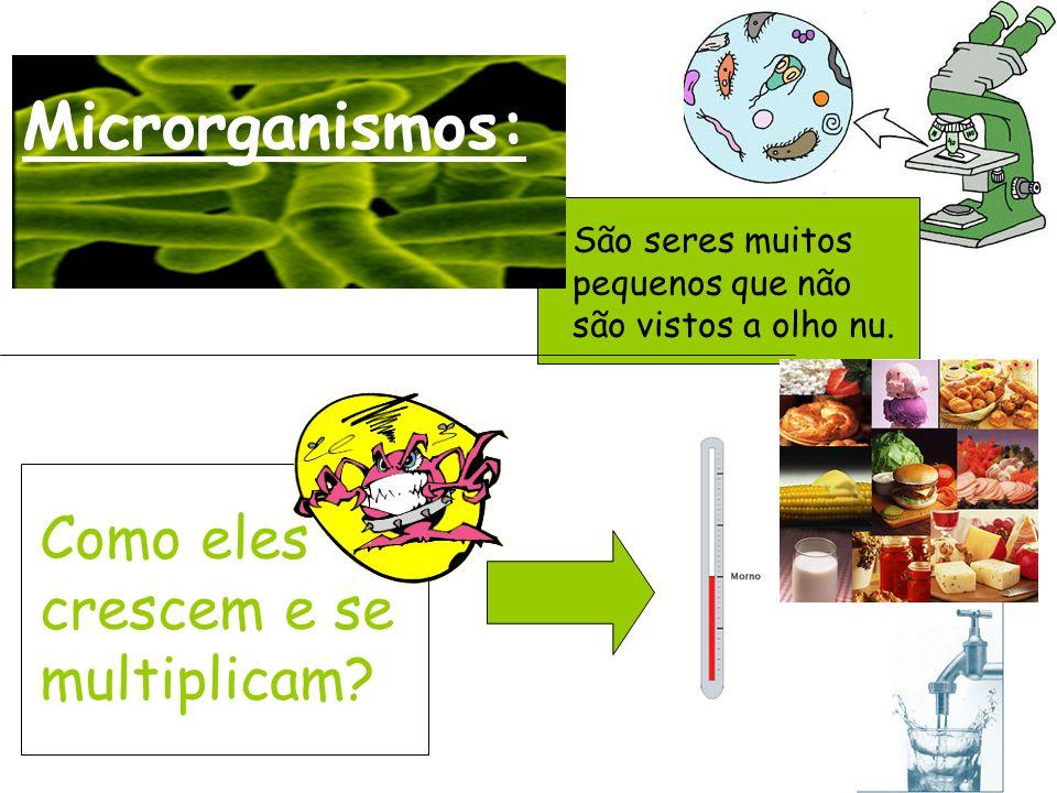 Microrganismos: Como eles crescem e se multiplicam