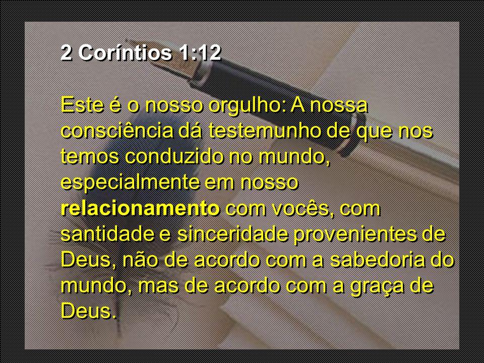 2 Coríntios 1:12