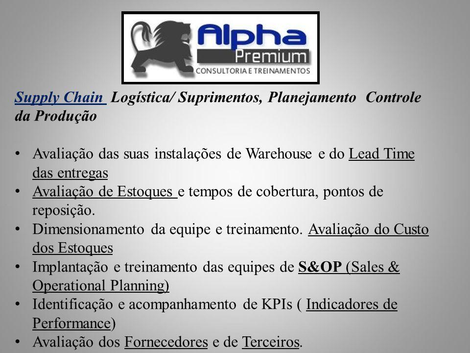 Supply Chain Logística/ Suprimentos, Planejamento Controle da Produção
