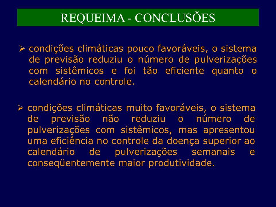 REQUEIMA - CONCLUSÕES