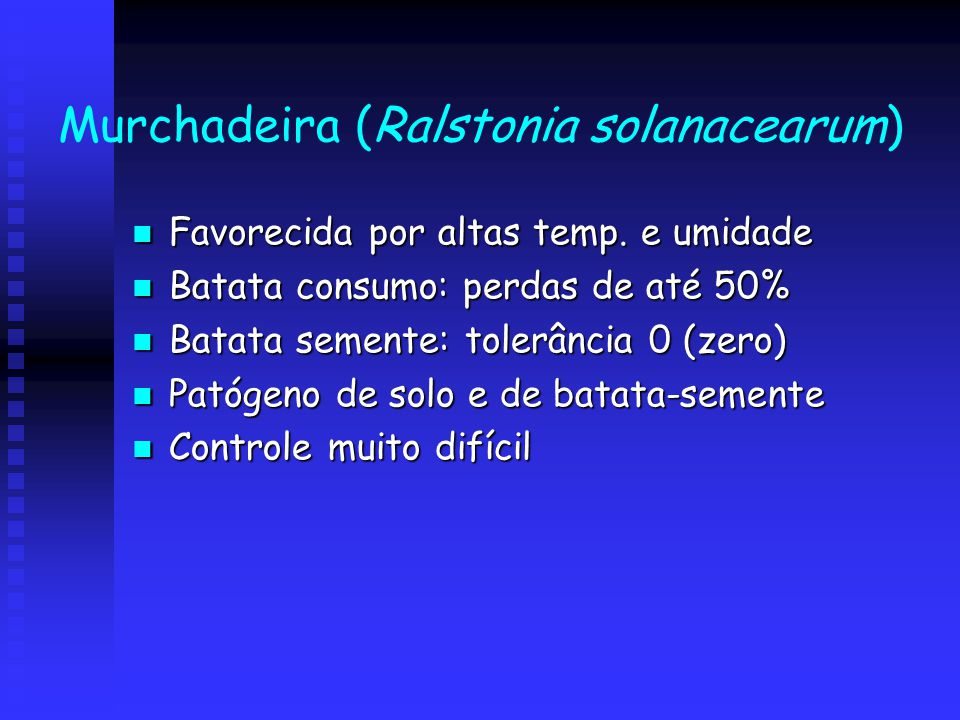 Murchadeira (Ralstonia solanacearum)
