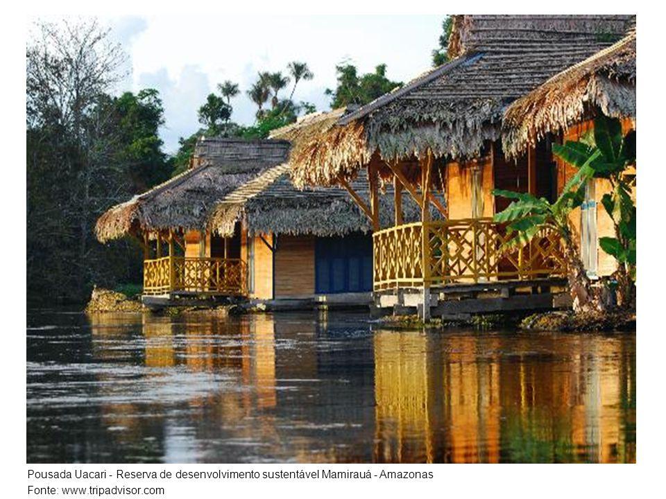 Pousada Uacari - Reserva de desenvolvimento sustentável Mamirauá - Amazonas