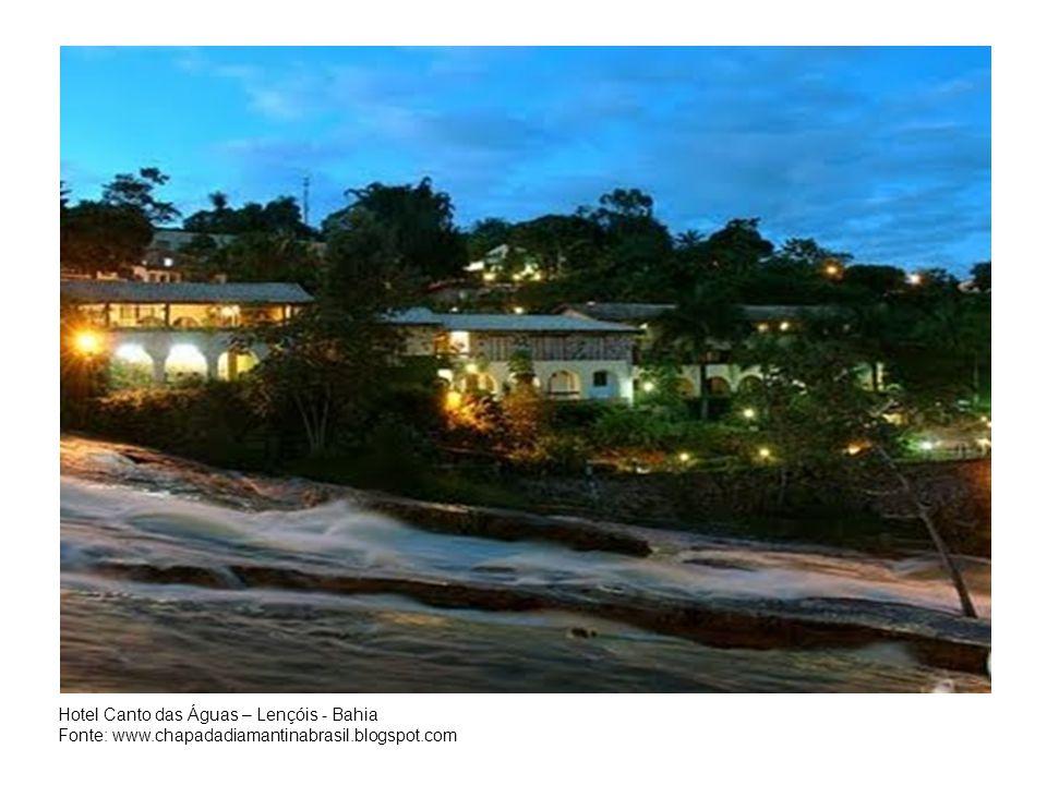 Hotel Canto das Águas – Lençóis - Bahia